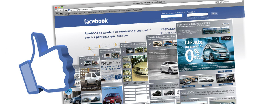 marketing en redes sociales facebook aplicaciones